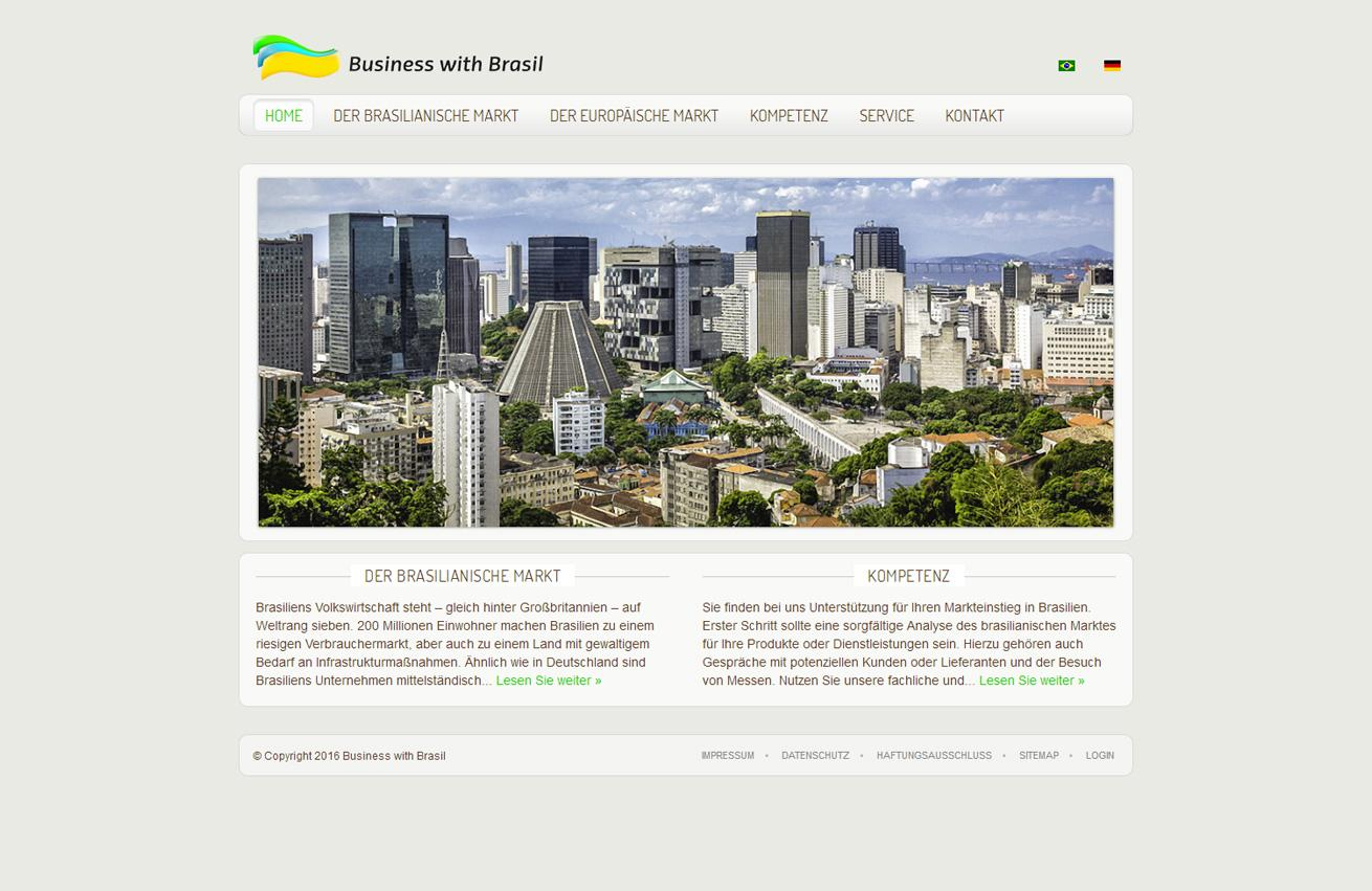Galerie Webdesign Business with Brasil